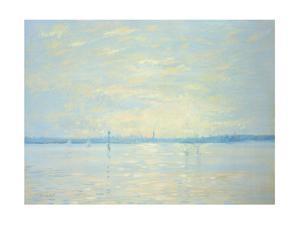 Southampton Water, Sunset, 1999 by Jennifer Wright