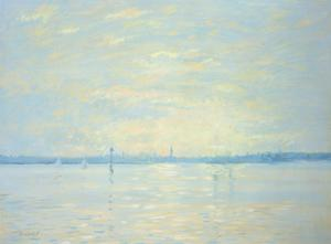 Southampton Water, Sunset, 1999 by Jennifer Wright