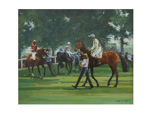 The Paddock, Windsor Races by Jennifer Wright