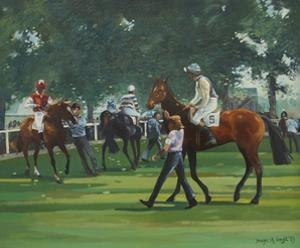 The Paddock, Windsor Races by Jennifer Wright