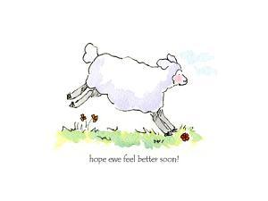 Ewe-Hope feel better by Jennifer Zsolt