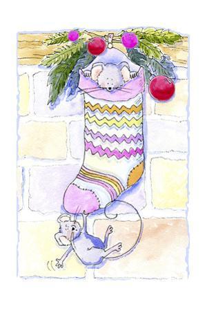 Mouse Stocking by Jennifer Zsolt