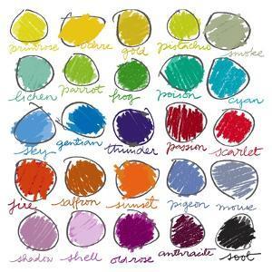 Colour Palette by Jenny Frean