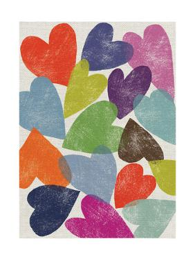 Printed Hearts by Jenny Frean