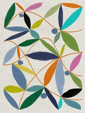 Printed Leaves by Jenny Frean