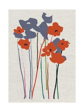 Printed Poppies by Jenny Frean