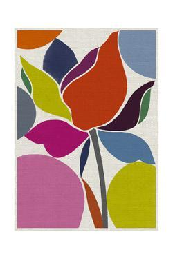 Printed Tulip by Jenny Frean