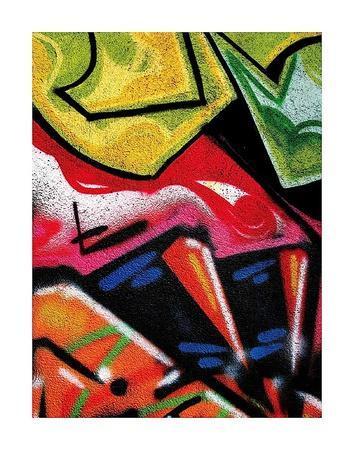 Colorful Graffiti (detail