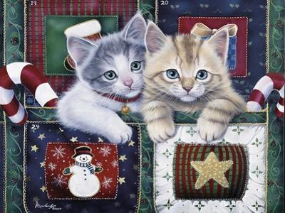 Christmas Calendar Kittens by Jenny Newland