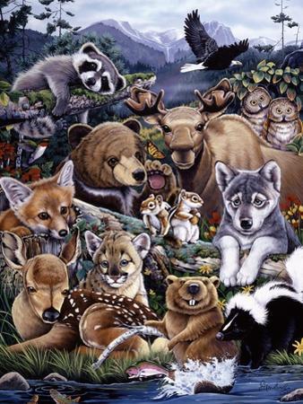 Forest Friends by Jenny Newland