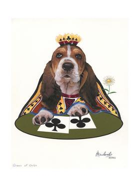 Queen of Clubs by Jenny Newland