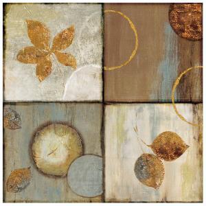 Circle Leaf Patterns II by Jenny Siekmann