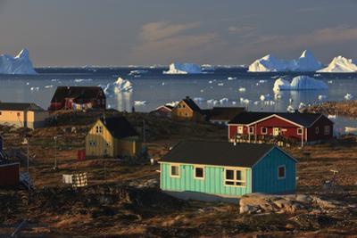 Coastal Settlement Houses, Saqqaq, Greenland, August 2009