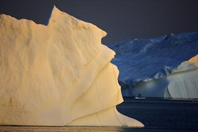 Iceberg at Dusk, Greenland, August 2009 Wwe Book