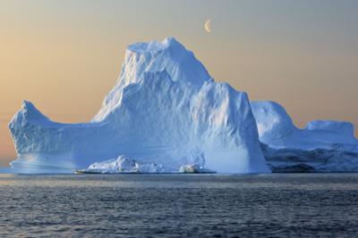 Iceberg, Disko Bay, Greenland, August 2009