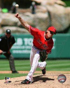 Jered Weaver 2011 Action