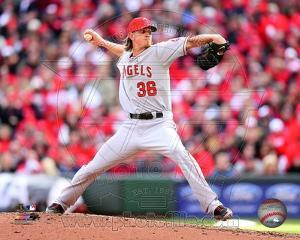 Jered Weaver 2013 Action