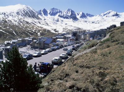 Ski Resort on French Border, Pas De La Casa, Andorra, Pyrenees