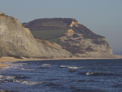 Golden Cap, Jurassic Coast, UNESCO World Heritage Site, Dorset, England, United Kingdom, Europe by Jeremy Lightfoot
