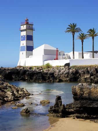 Lighthouse, Cascais, Portugal, Europe
