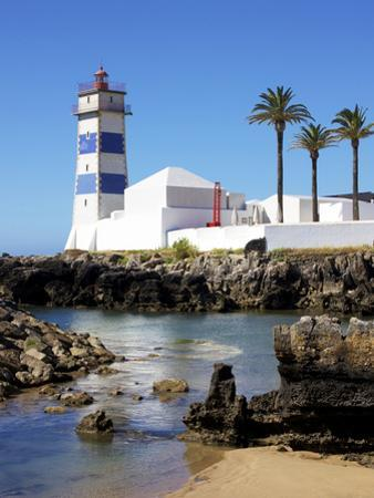Lighthouse, Cascais, Portugal, Europe by Jeremy Lightfoot