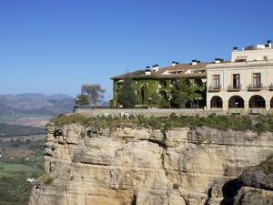 Parador, Ronda, Malaga Province, Andalucia, Spain, Europe by Jeremy Lightfoot