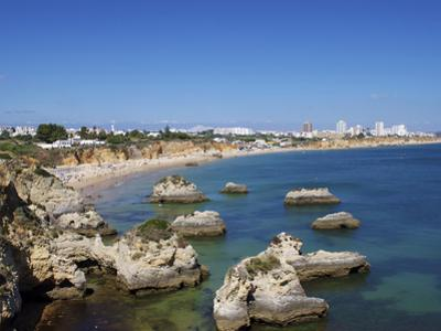 Praia Do Vau, Portimao, Algarve, Portugal, Europe by Jeremy Lightfoot