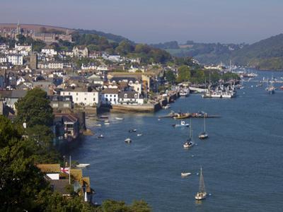 River Dart, Dartmouth, Devon, England, United Kingdom, Europe by Jeremy Lightfoot