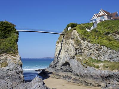 Towan Beach, Newquay, Cornwall, England, United Kingdom, Europe by Jeremy Lightfoot