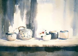 Blue/White China I by Jeremy Taylor