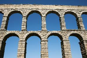 Aqueduct of Segovia, Spain by Jeremy Walker
