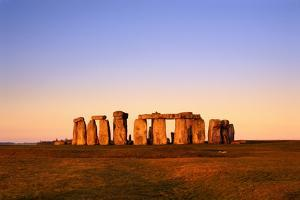 England, Wiltshire, Stonehenge at Dawn by Jeremy Walker