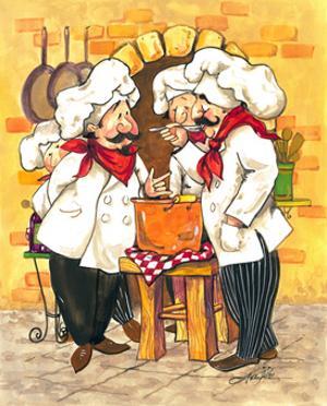Soup Chefs by Jerianne Van Dijk