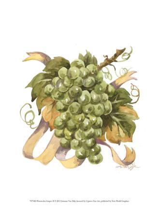 Watercolor Grapes II