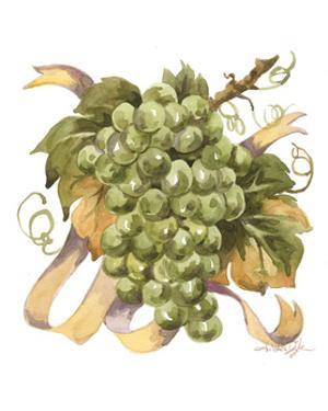 Watercolor Grapes II by Jerianne Van Dijk