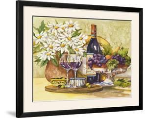 Wine and Daisies by Jerianne Van Dijk