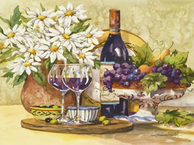 Wine and Daisies by Jerianne Van Dijk