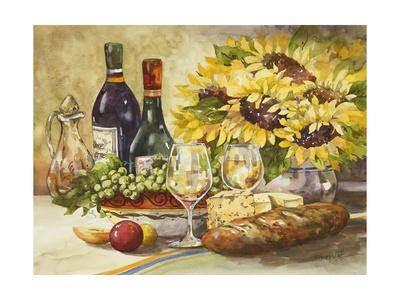 Wine and Sunflowers