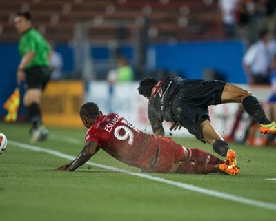 2014 MLS U.S. Open Cup: Jun 17, San Antonio Scorpions vs FC Dallas - Andres Escobar