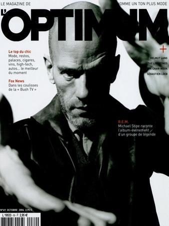 L'Optimum, October 2004 - Michael Stipe by Jérôme Schlomoff