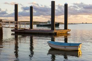 Skiffs Next to the Commercial Fishing Pier in Chatham, Massachusetts. Cape Cod by Jerry and Marcy Monkman