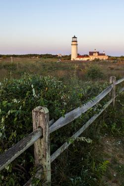 The Cape Cod Lighthouse,. Highland Light, in Truro, Massachusetts by Jerry and Marcy Monkman