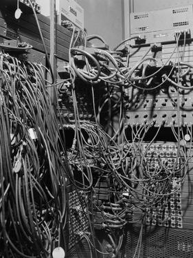 Cables on Early Computer by Jerry Cooke