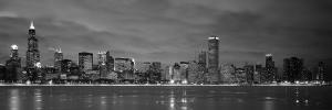 Chicago - B&W Reflection by Jerry Driendl