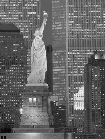 NY - Towers and Statue