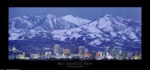 Salt Lake City, Utah by Jerry Driendl