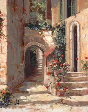 Provence Arch I by Jerry Georgeff
