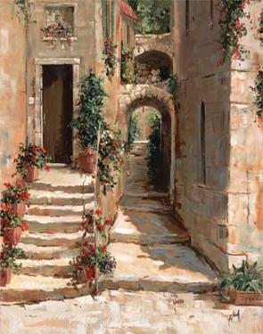 Provence Arch II by Jerry Georgeff