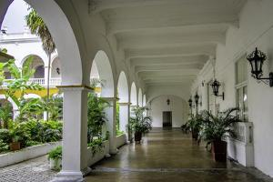 Architecture of the University of Cartagena, Cartagena, Colombia by Jerry Ginsberg