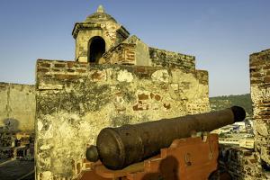Castillo de San Felipe de Barajas, Cartagena, Colombia by Jerry Ginsberg